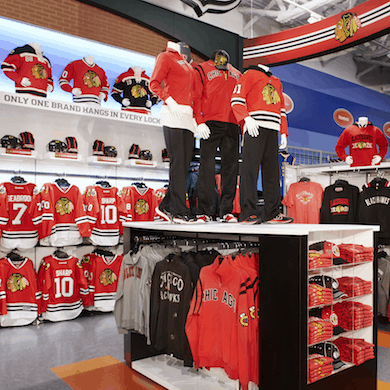 NHL Branded Super Shops