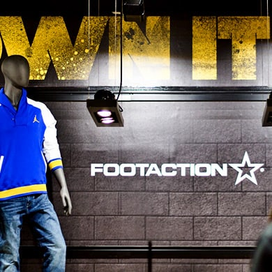 Footaction Brand Experience Design