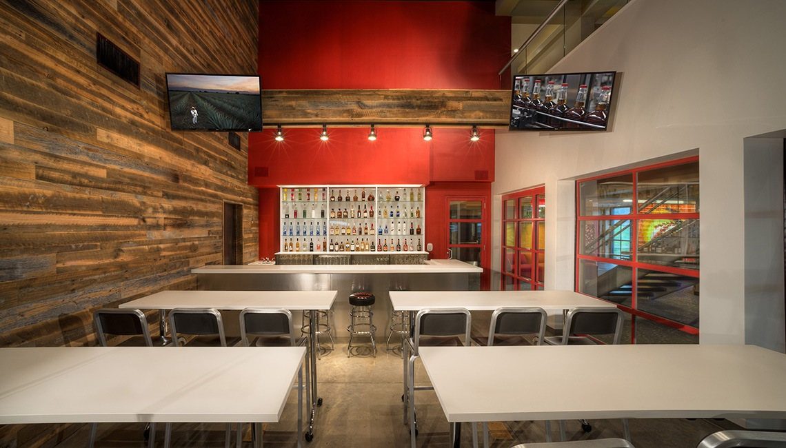Interior Design Photography of Jim Beam Distillery Claremont Kentucky Design by Big Red Rooster COlumbus Ohio